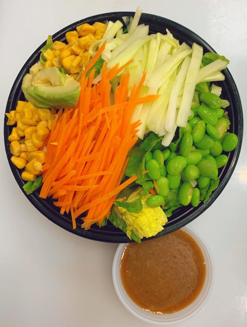 S6. Salad w. Yuzu Dressing