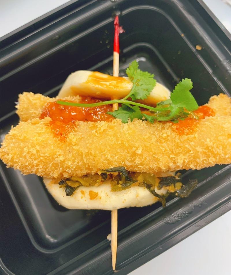B2. Shrimp Tempura Bun