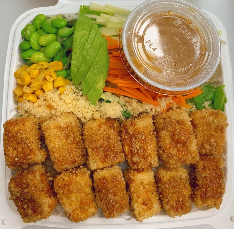 8. Fried Tofu