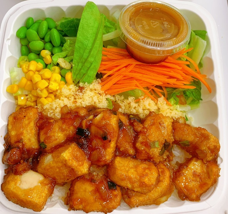 15. Teriyaki Fried Tofu Image