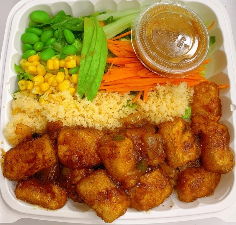 16. Black Pepper Fried Tofu