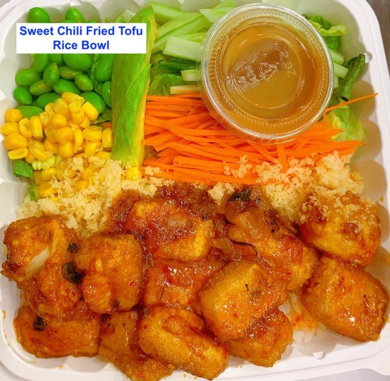 17. Sweet Chilli Fried Tofu