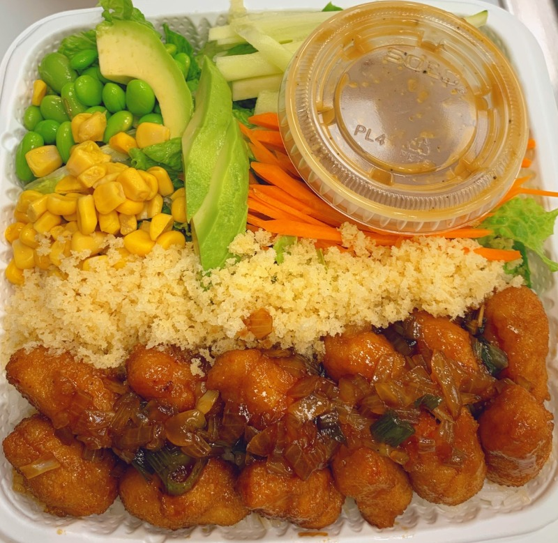 2. Teriyaki Chicken