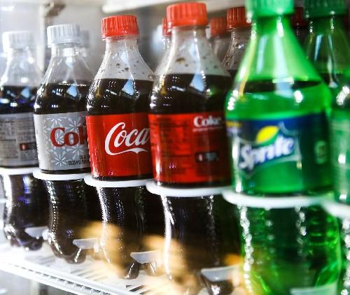 Bottle of Soda (20 oz.) Image