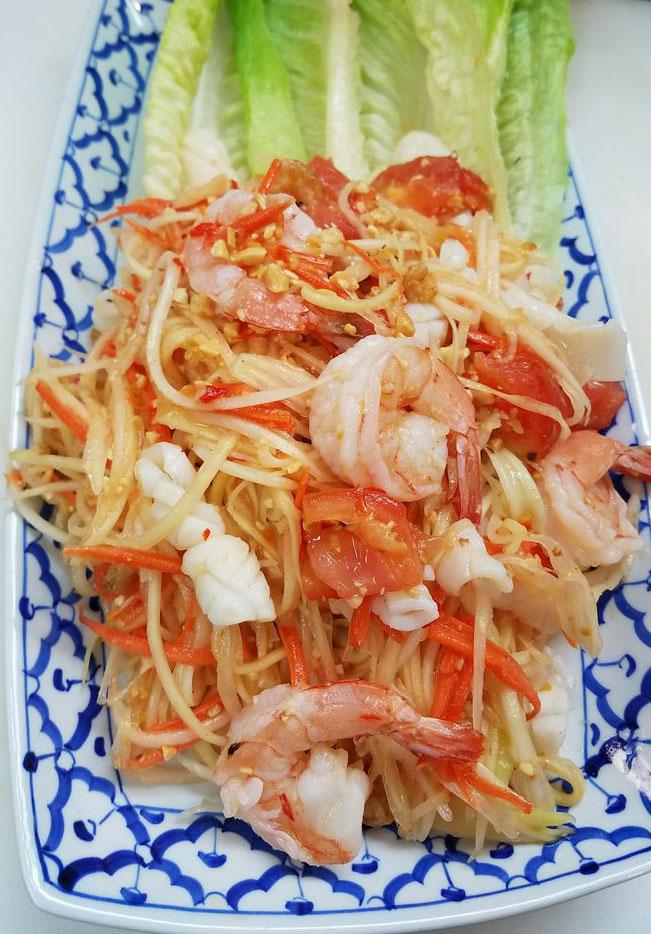 Payaya Salad Thai Style