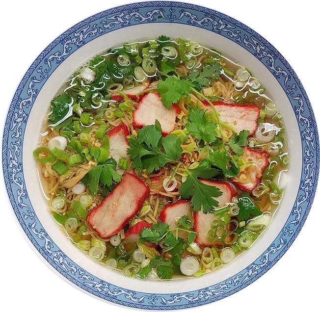 Ba Mee Moo Dang (Roast Pork)
