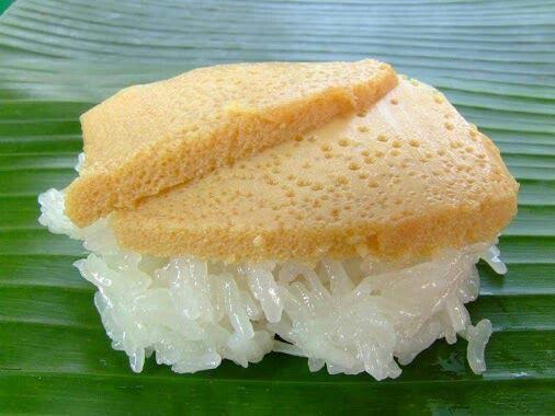Thai Custard w/ Sweet Sticky Rice