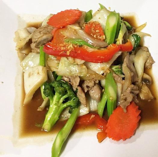 Pud Pug Ruam (Mixed Veggies) Image