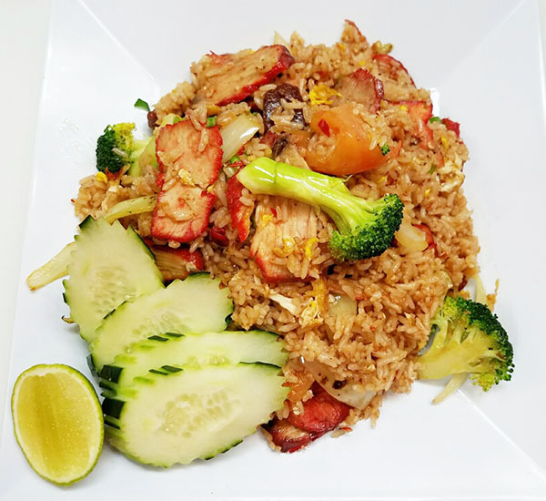 Roast Pork & Sausage Fried Rice Image