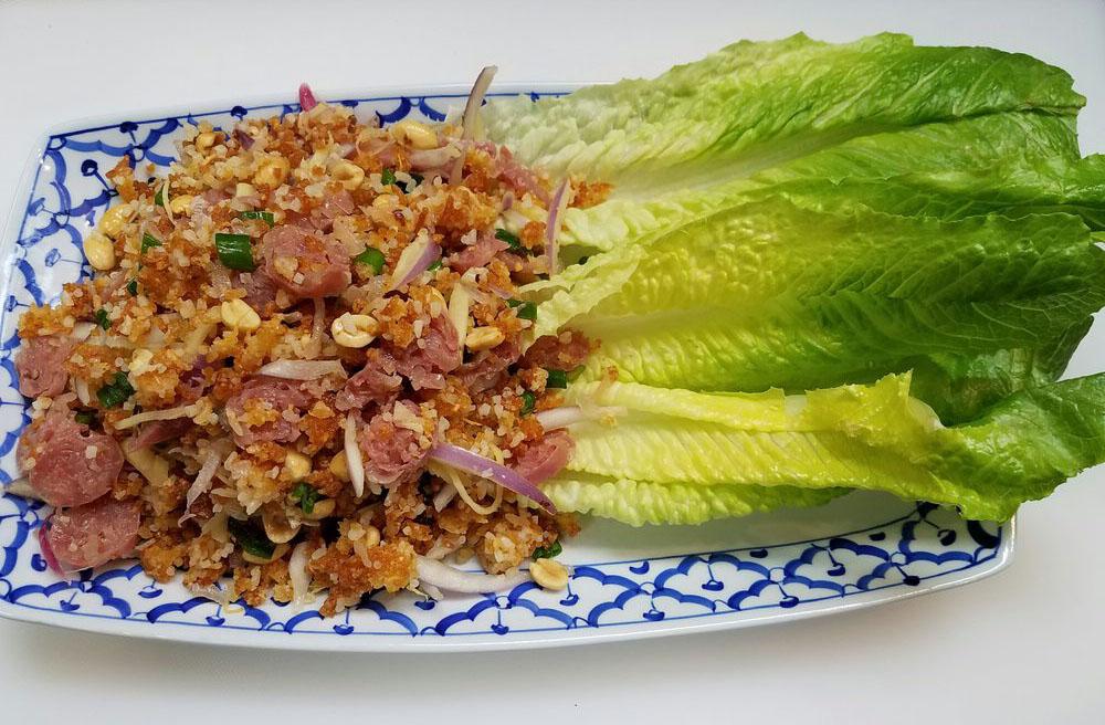 Yum Nham Kow Tod