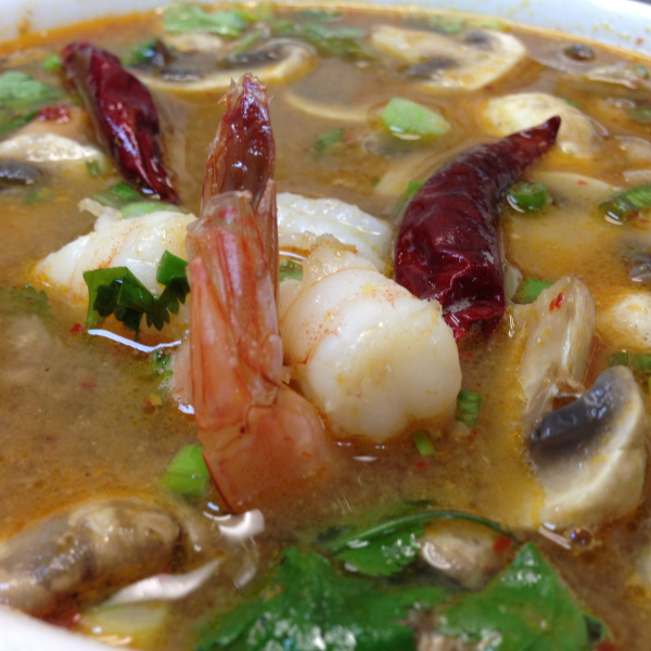 S2. Tom Yum Shrimp