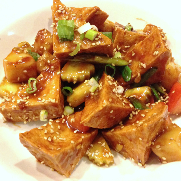 V1. Sweet & Sour Tofu Image