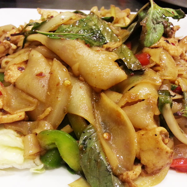 N3. Spicy Drunken Noodles
