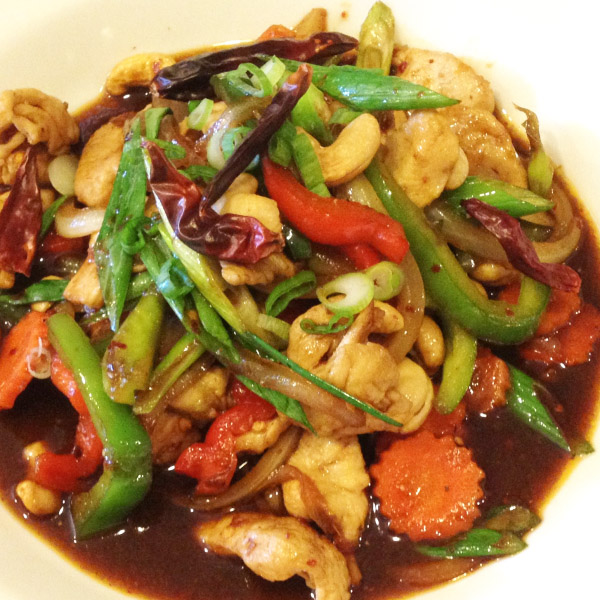 E5. Cashew Nut Chicken