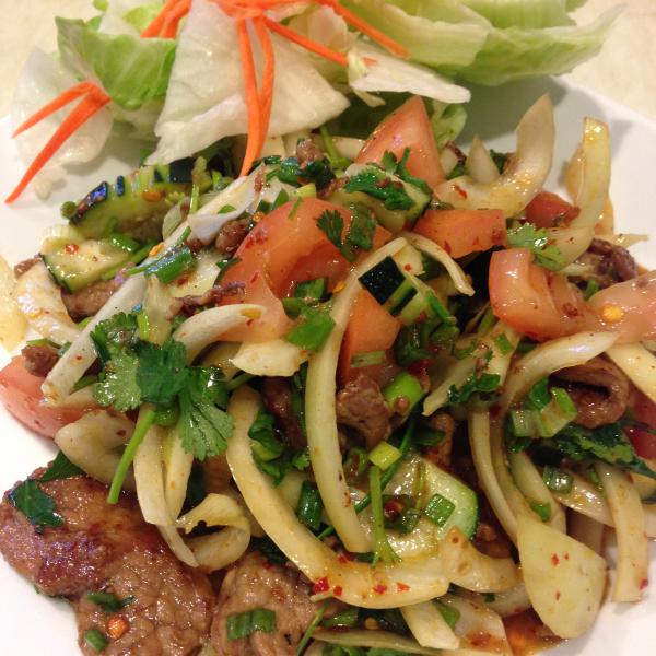 S3. Spicy Beef Salad Image