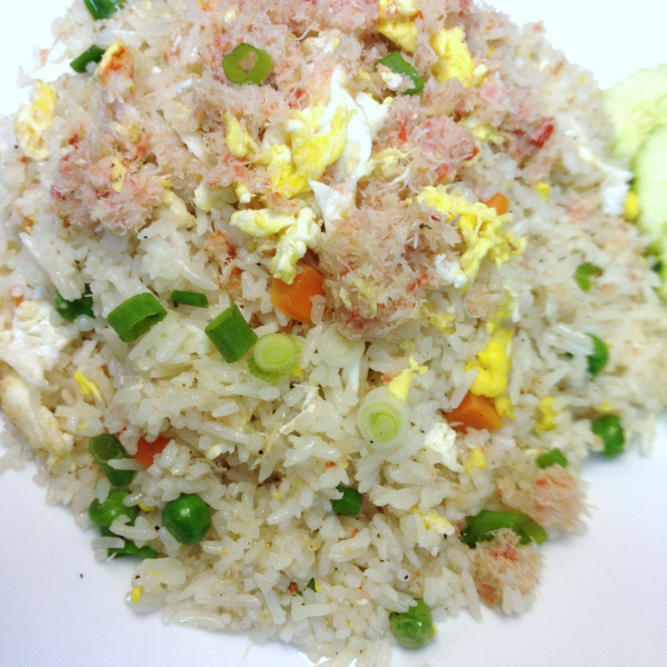 R4. Crab Fried Rice