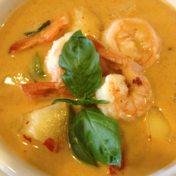 C4. Pineapple Shrimp Curry