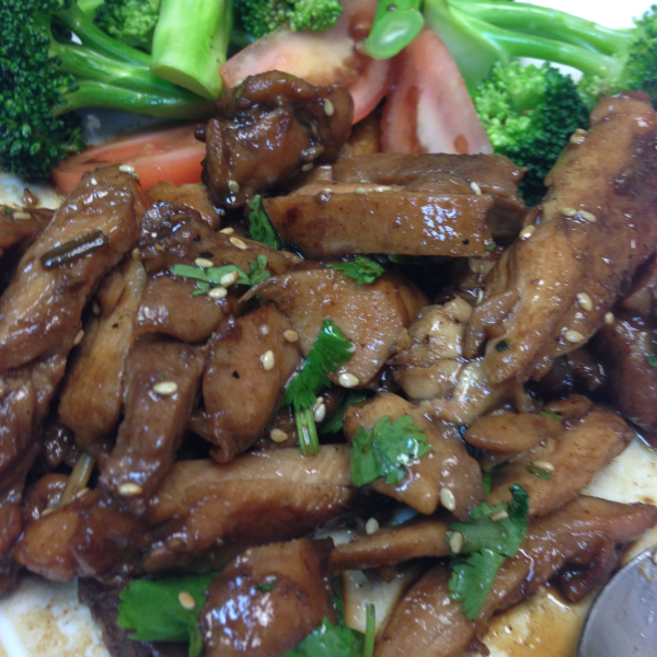 E8. Teriyaki Chicken Image
