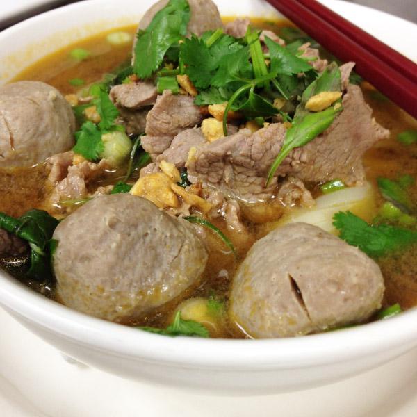 NS2. Thai Boat Noodle Soup