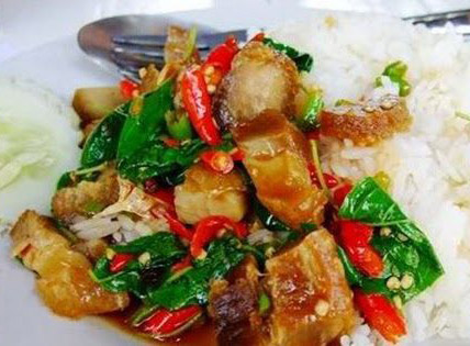 TS2. Spicy Basil Crispy Pork Image
