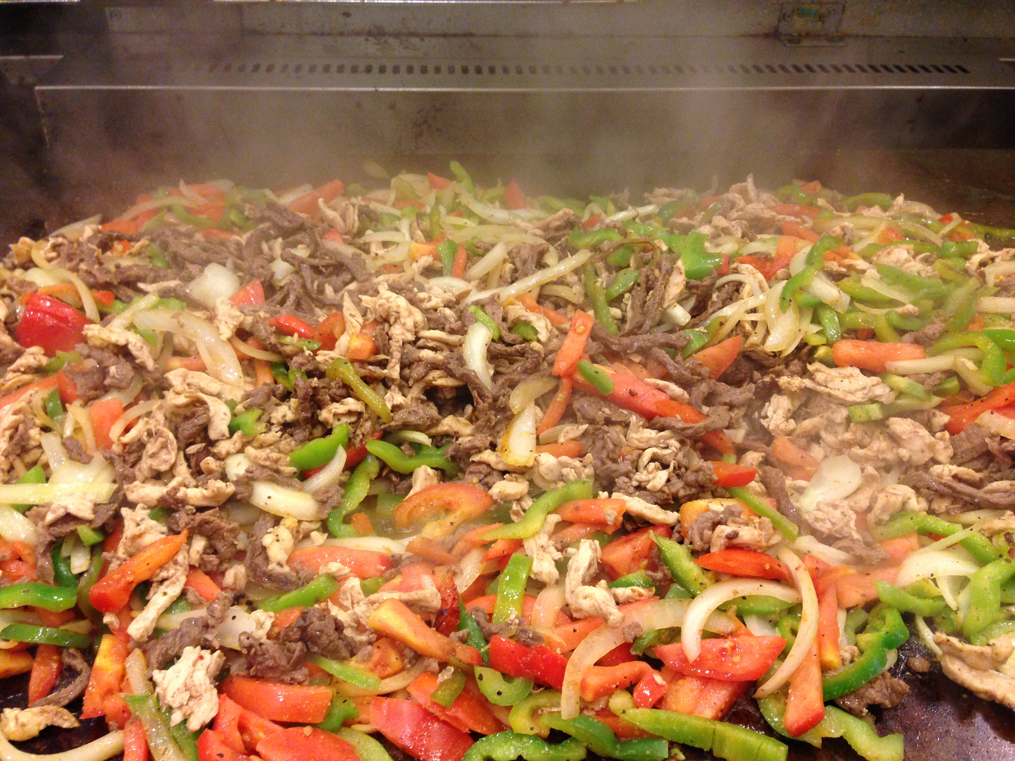 Fajitas Chicken Or Steak For 12