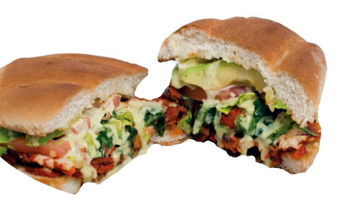 Torta Chilanga (Al Pastor Marinated Pork)