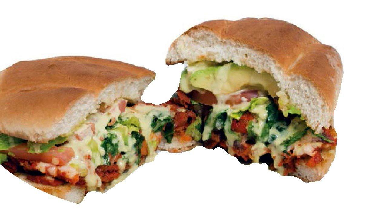 Torta Chilanga (Al Pastor Marinated Pork) Image
