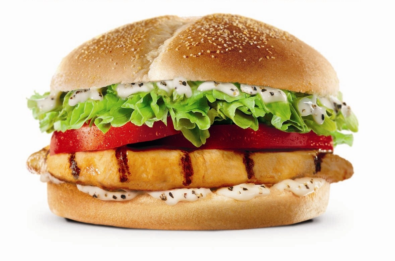 Chicken Sandwich (12 years and Under) Image