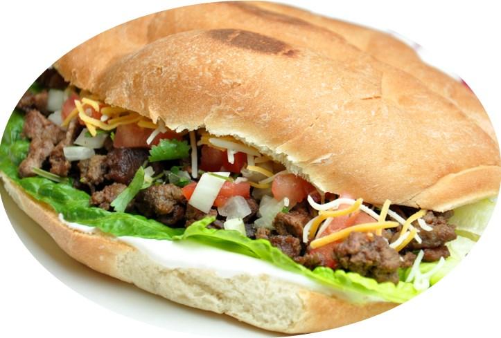 Torta Zapopan (Steak) Image