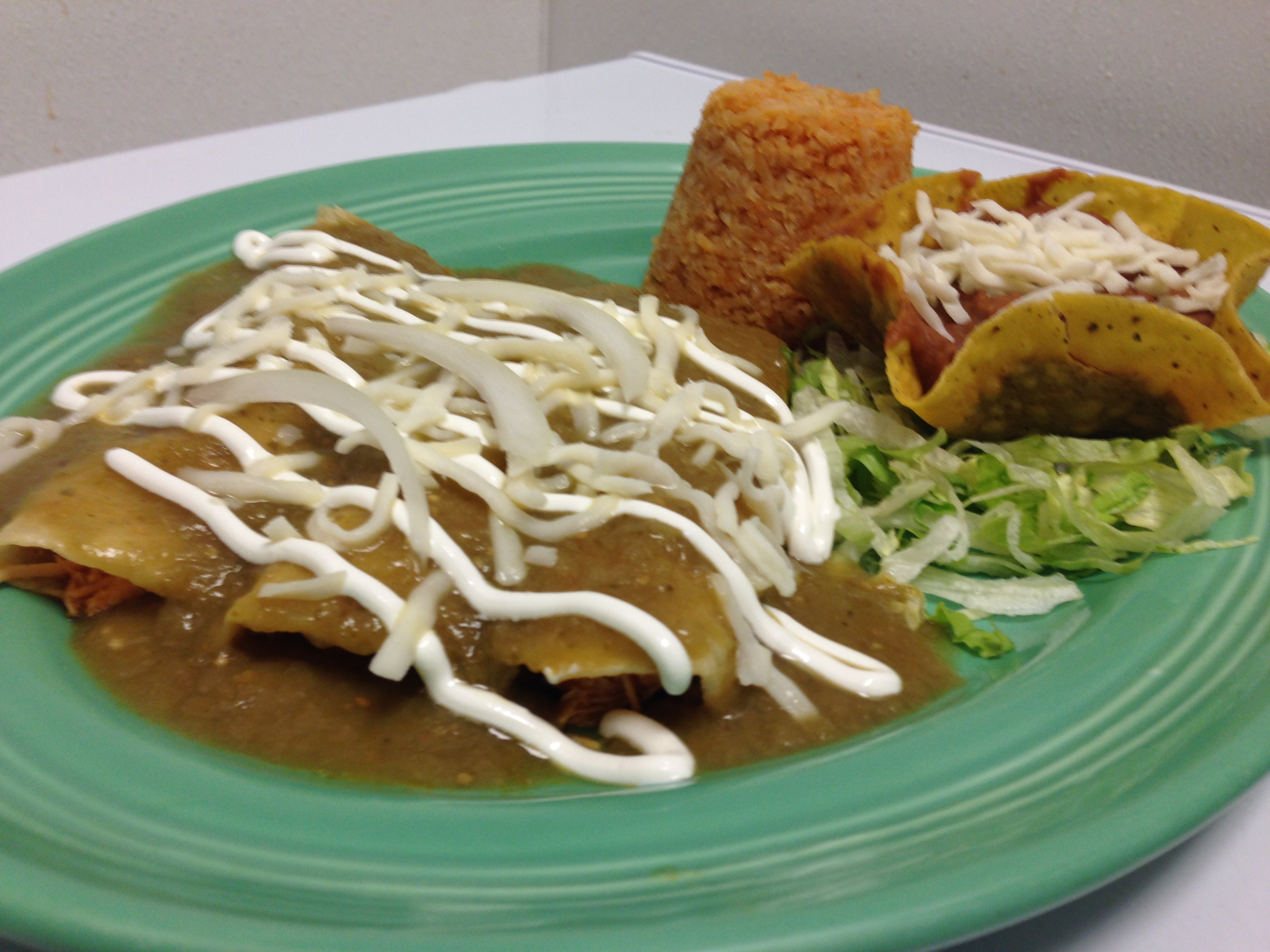 Enchiladas Verdes Image