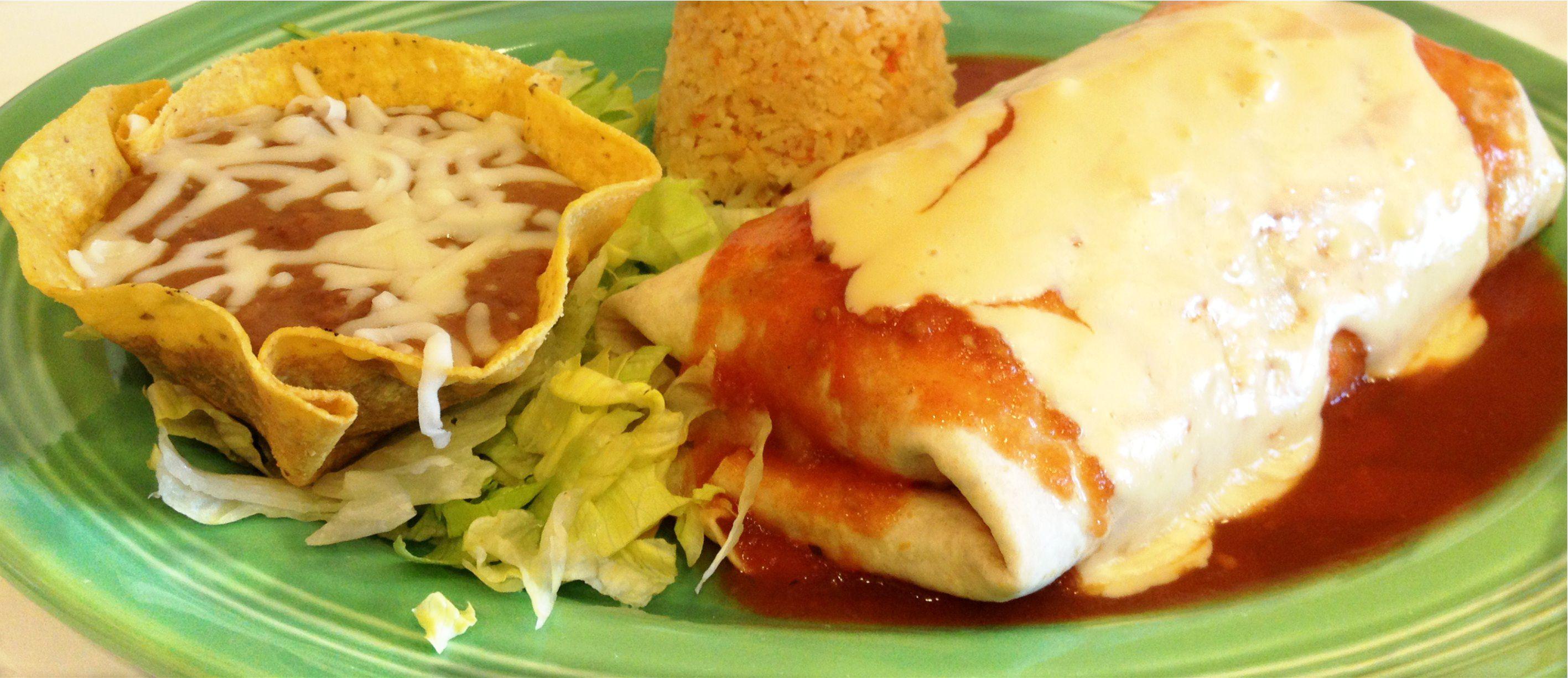 Fajita Burrito Image