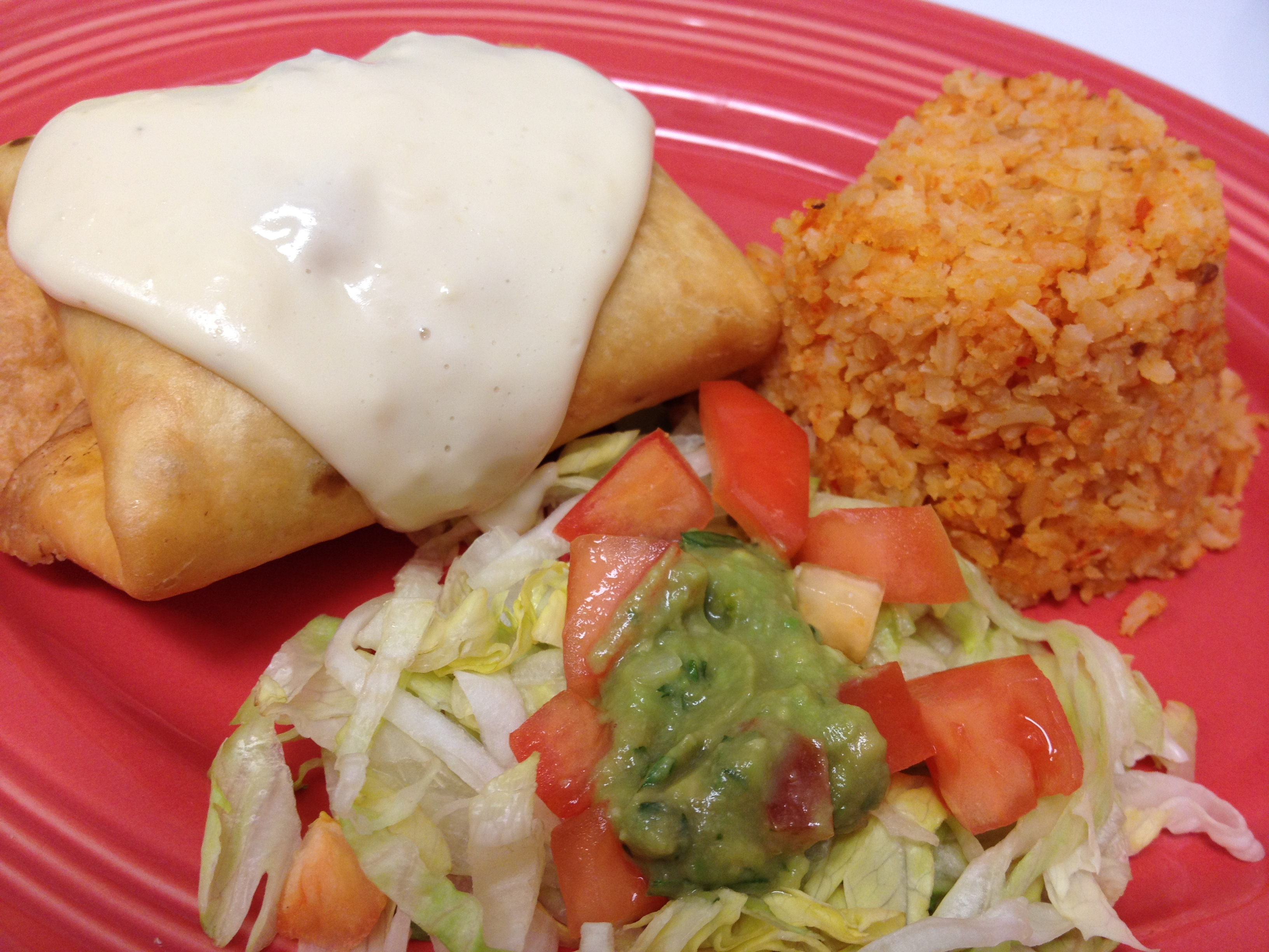 Mini Chimichanga (12 years and Under)