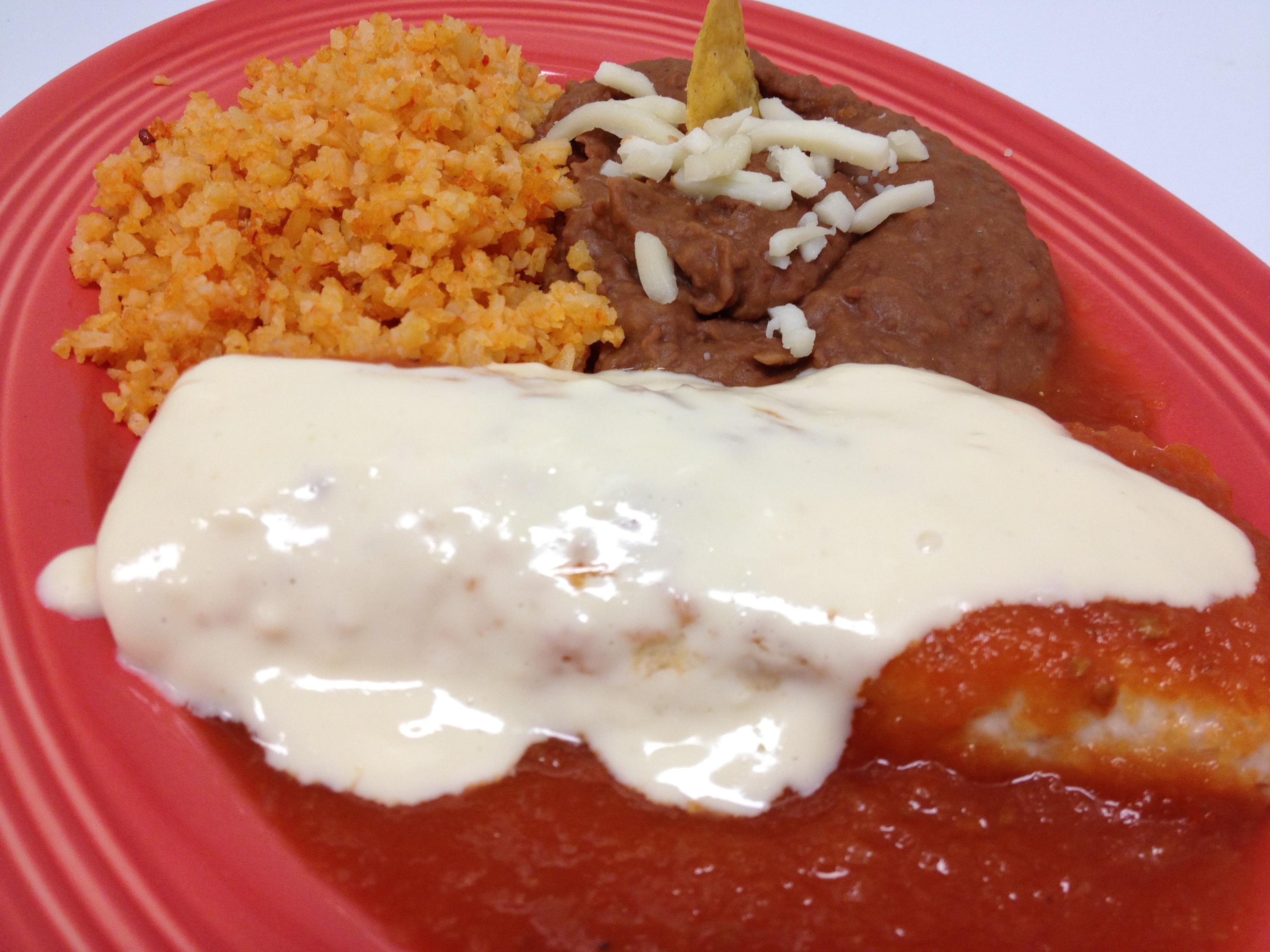 Enchilada Roja (12 years and Under)