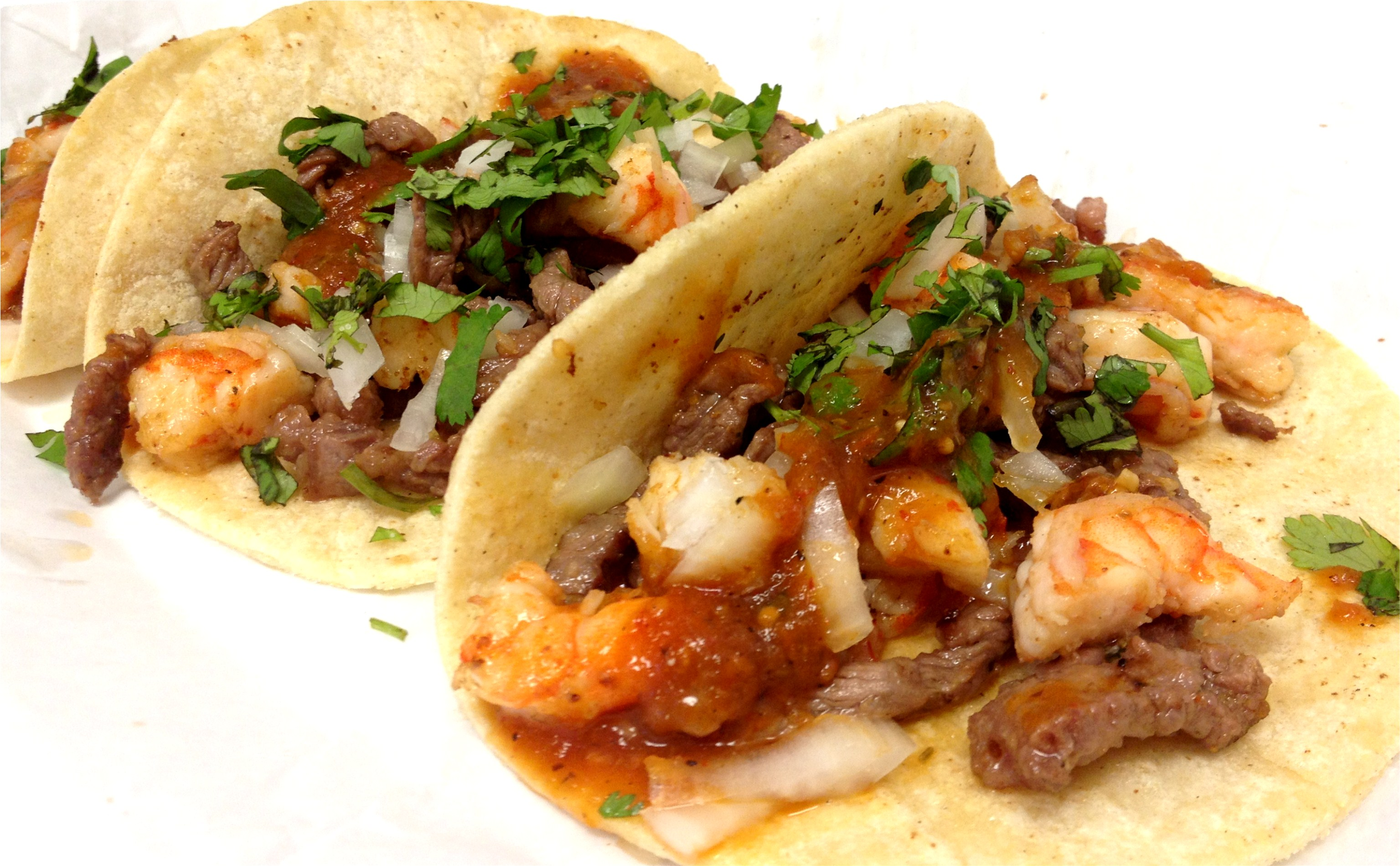 Fish Or Shrimp Tacos (Corn Tortilla) Image
