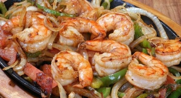 Shrimp Fajitas Image