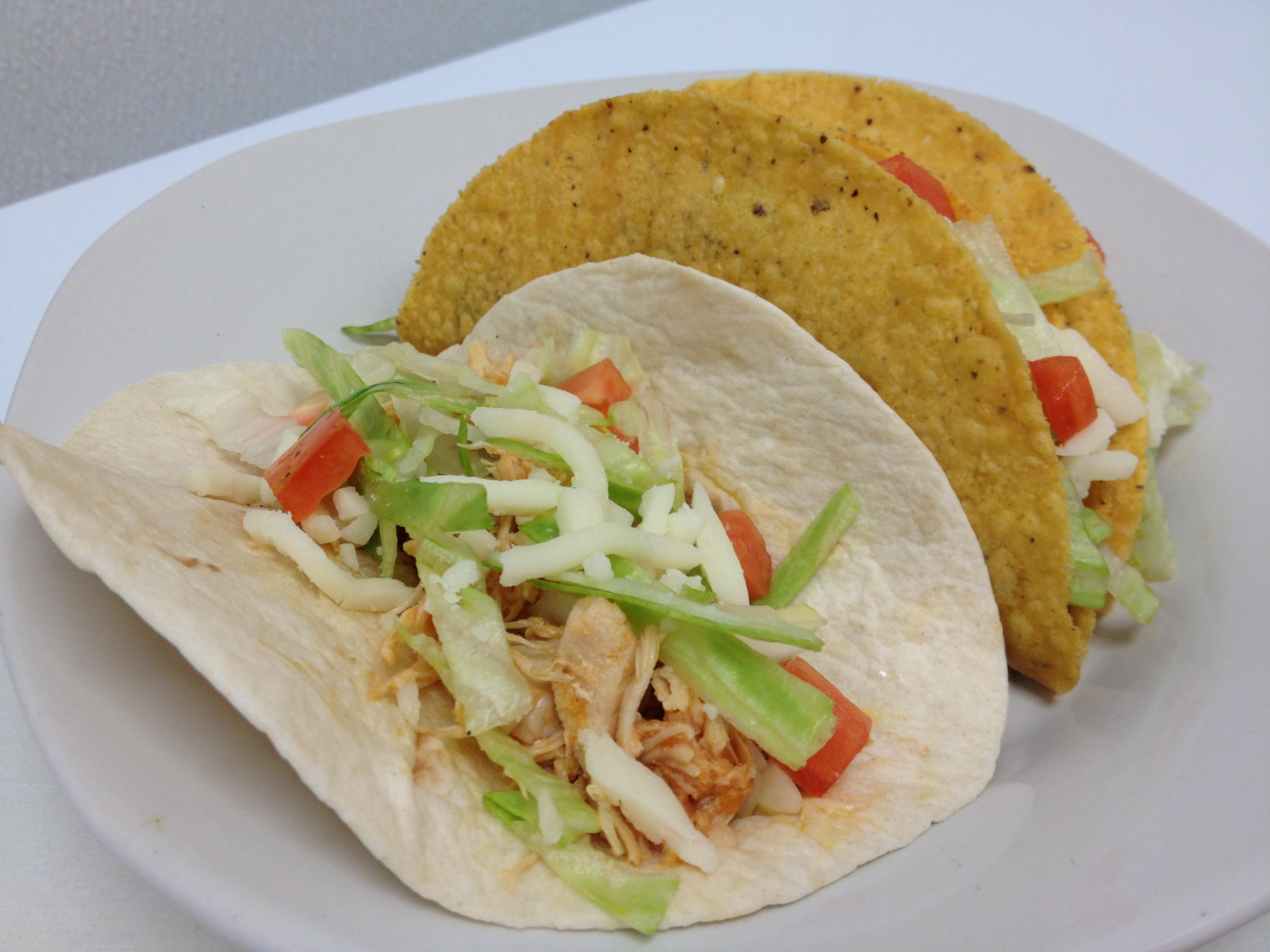 Tacos Order (2) Soft Or Hard Tortilla