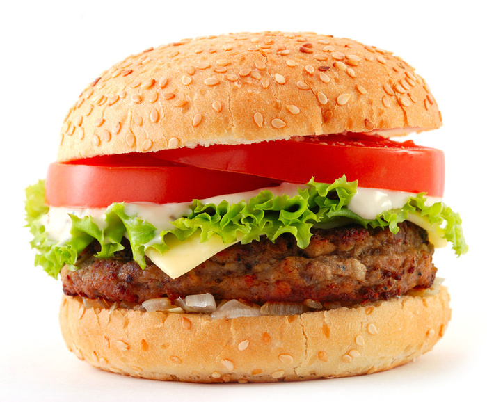 Cheese Burger (12 years and Under) Image