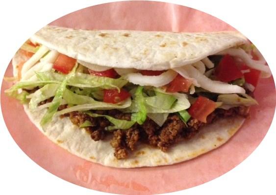 Soft Ground Beef Taco Image