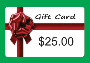 Gift Card Special $25 Pay $20