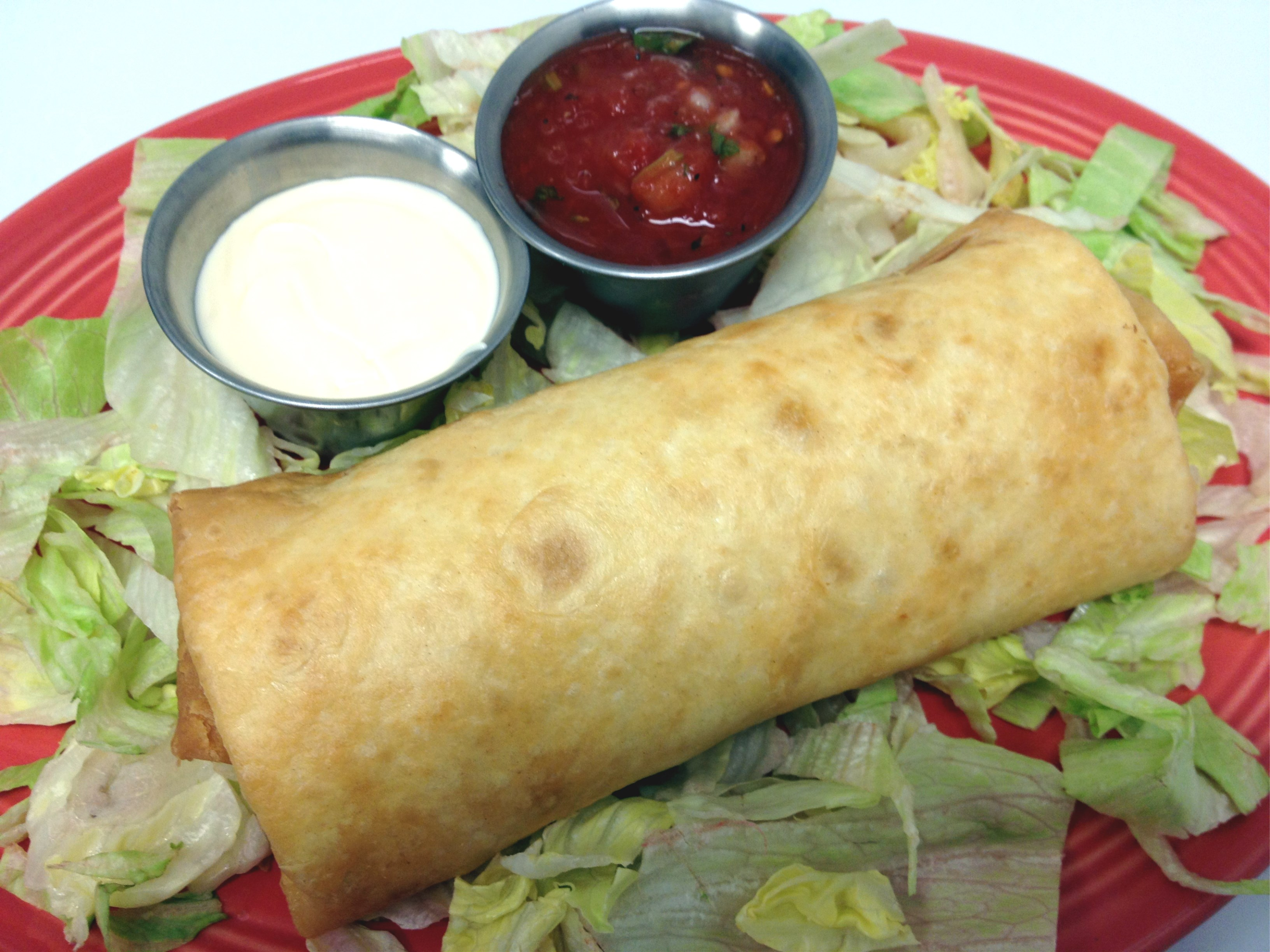 Agave Burrito Chorizo Image