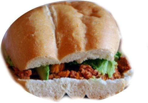 Torta Monterrey (Egg & Chorizo) Image