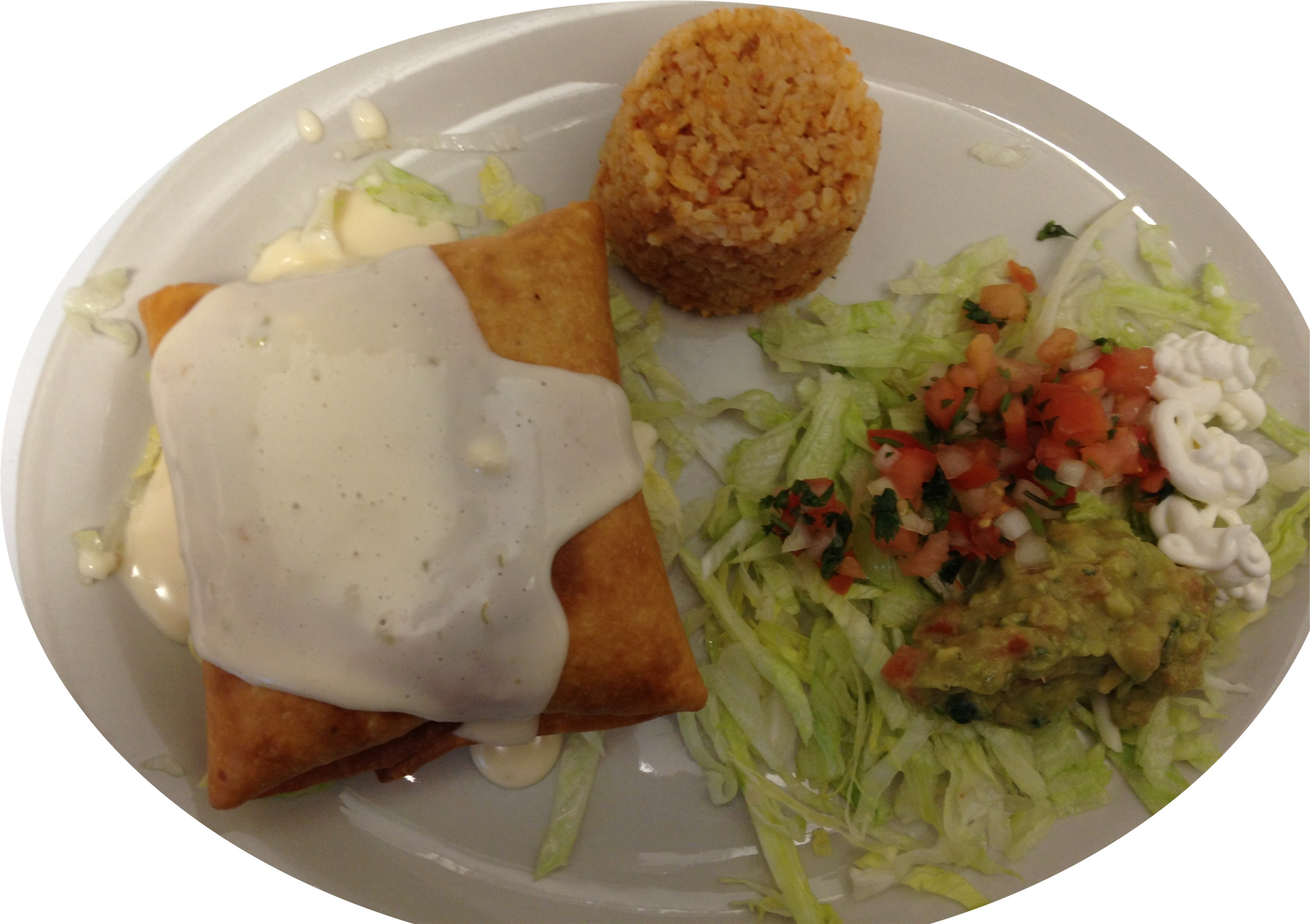 Shrimp Chimichanga Image