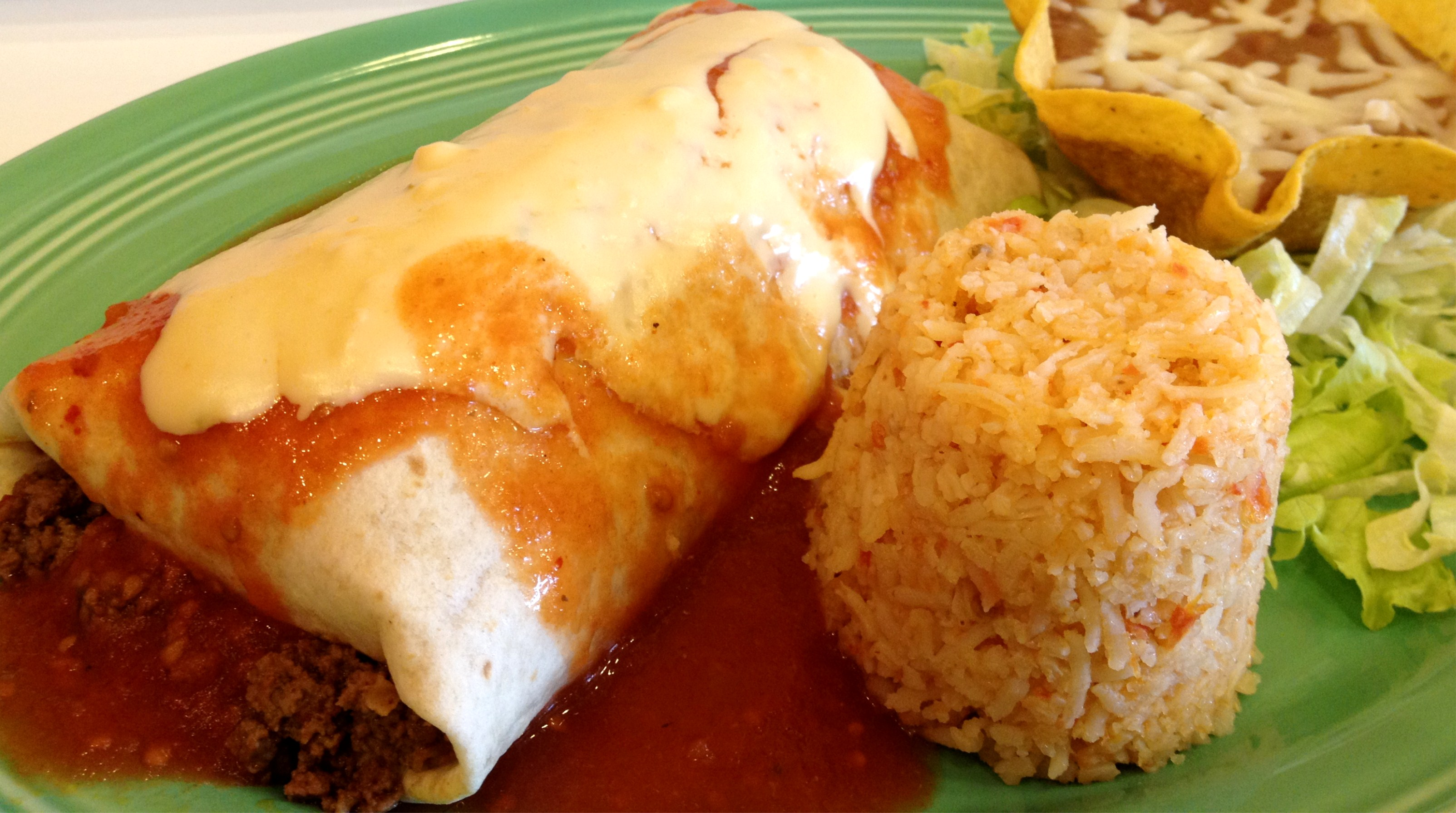 Traditional Burrito Image