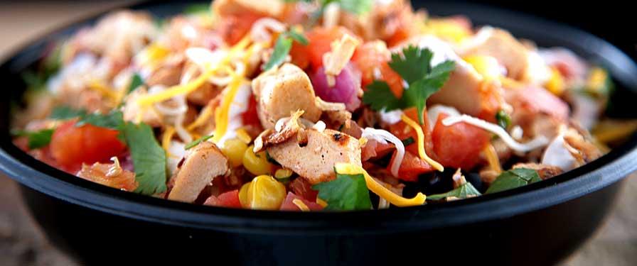 Vegetarian Burrito Bowl Image