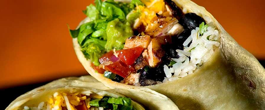 Vegetarian Burrito Image