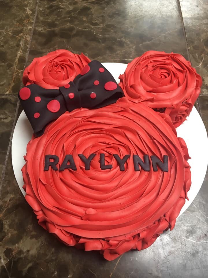 Mickey Mouse Cake For, Raylynn.