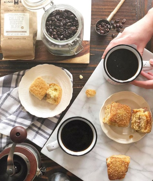 King Bean French Press Coffee - Hot Image