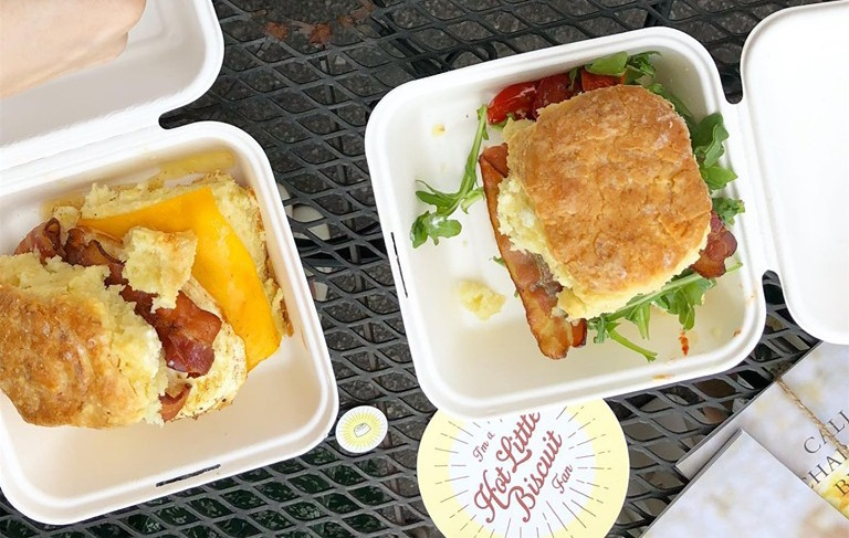 Build Your Own Buttermilk Biscuit Sandwich Image