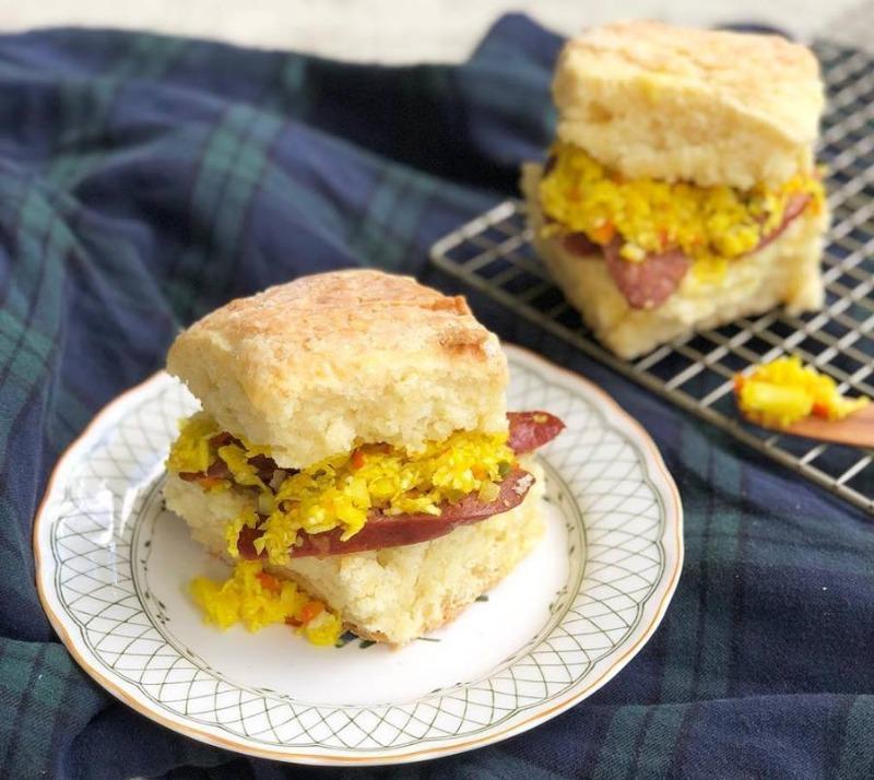 Sat & Sun: Smoked Sausage Biscuit Image