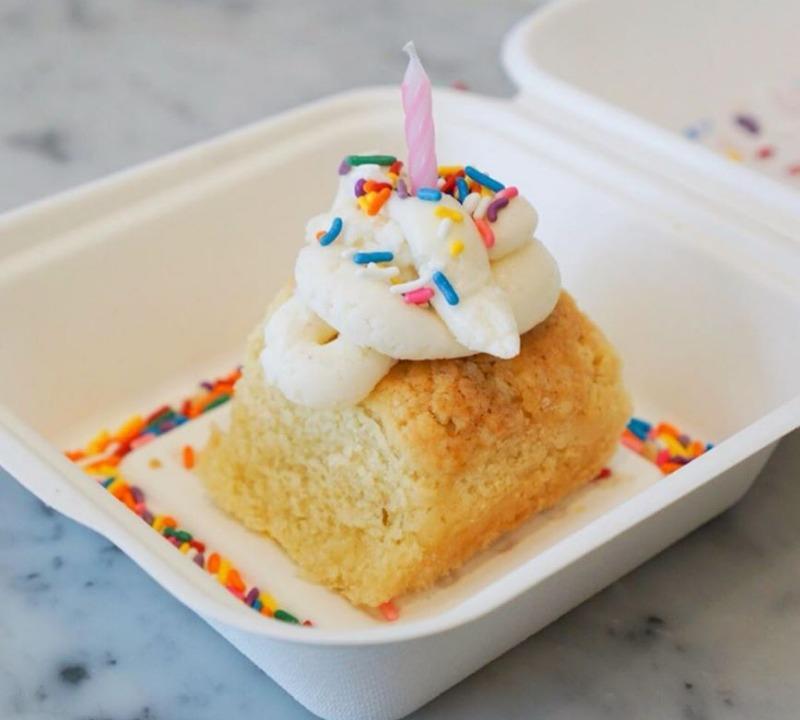 Birthday Biscuit Image